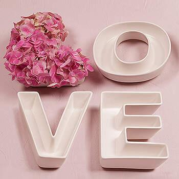 Cuencos Inscripción Love- Compra en The Wedding Shop