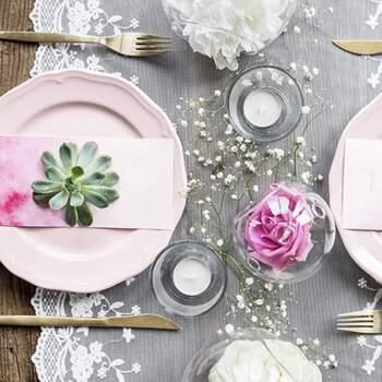 Dentelle Flocons Et Fleurs 45cm - The Wedding Shop !