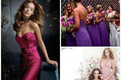 Das passende Kleid für die Brautjungfern – die Trends 2013!
