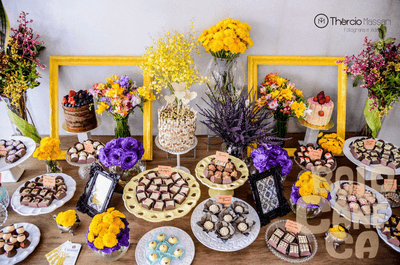 36 ideias para a mesa de doces do seu casamento: deliciosa inspiração!