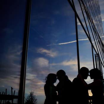 Espectacular imagen obtenida durante la sesión de fotos de los novios. Foto: U&U photo. Web: http://www.u-uphoto.com/