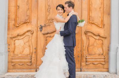 Die unvergessliche Hochzeit von Laura & Olivier in Basel – Luxuriös und stilvoll