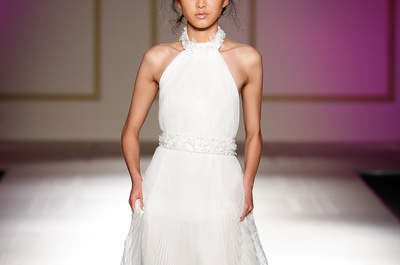 Ainda não viu os melhores vestidos de noiva minimalistas? Entre eles está o seu!