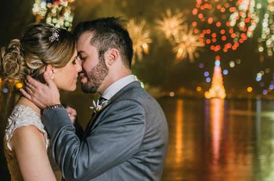 Casamento ao ar livre LINDO no Rio de Janeiro de Sylvia & Armando: nem a chuva atrapalhou!