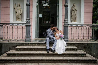 Casamento de Fabiana & Marcus: ao ar livre, DIY e internacional na floresta da Tijuca!