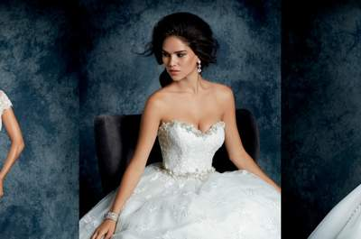The most stunning wedding dresses from the Sapphire by Alfred Angelo collection