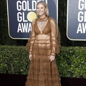 Gwyneth Paltrow veste Fendi. Crédits Cordon Press