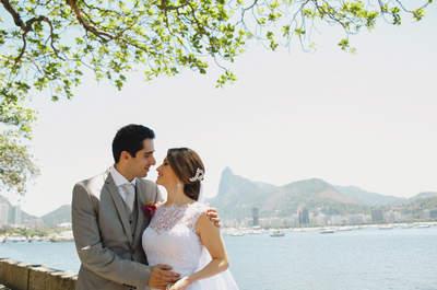 Natalia & Antonio: mini wedding totalmente DIY no Rio de Janeiro!