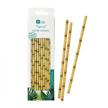 Pajitas Bambú 30 Unidades- Compra en The Wedding Shop