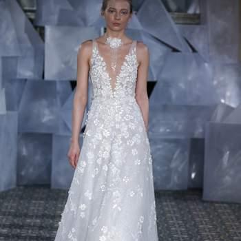 Mira Zwillinger - Credits: New York Bridal Fashion Week 2018