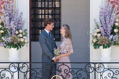 O casamento civil de Pierre Casiraghi e Beatrice Borromeo: a primeira fotografia!
