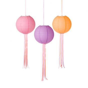 Set de 3 esferas de malibú con cintas- Compra en The Wedding Shop