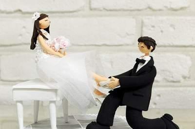 Décorations à poser sur son dessert de mariage