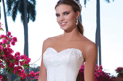 Sweetheart Brautkleider 2015: luxuriöse und exotische Eleganz