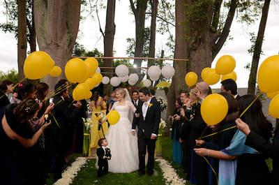 Inspiración: bodas luminosas en amarillo y blanco