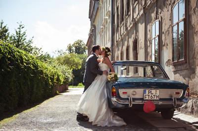 Origineller Hochzeitstransport: So gelingt Ihnen Ihre außergewöhnliche Ankunft!
