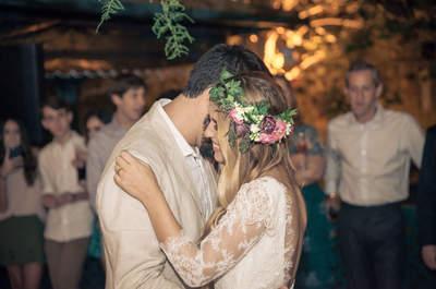 Fernanda & Leandro: casamento Boho Chic ao ar livre em Teresópolis