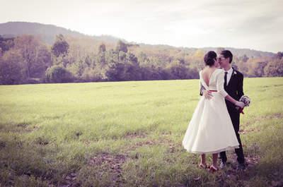 Un amor mágico: la espectacular boda invernal de Eli e Iván
