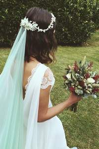 Velos de novia de color
