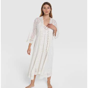 Moon River - Conjunto de noiva comprido robe e camisa de dormir no El Corte Inglés