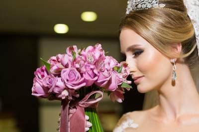 Casamento de Kethlin & Tiago: conto de fadas em castelo de Curitiba