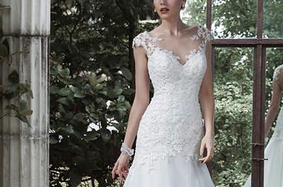 Unsere Favoriten der Maggie Sottero Brautkleider-Kollektion für den Herbst 2015: Weiblichkeit in ganz großem Stil