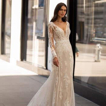Créditos: Pronovias Cruise 2021 | Modelo do vestido: Andrews