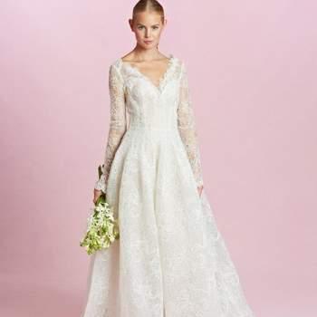 1e14dd3e9699 62 vestidos de novia de Oscar de la Renta que te enamorarán