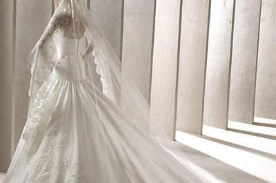 Qual a diferença entre o véu de noiva e mantilha?