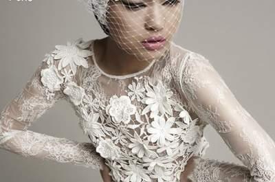 Tesoros de alta costura: vestidos de novia 2014 de YolanCris