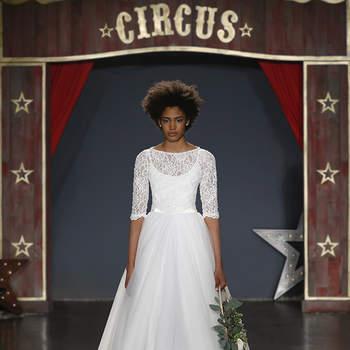 Robes de mariée à col bateau : soyez la plus élégante des mariées