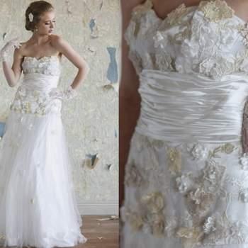 Vestido Alexandría de Ruche Bridal