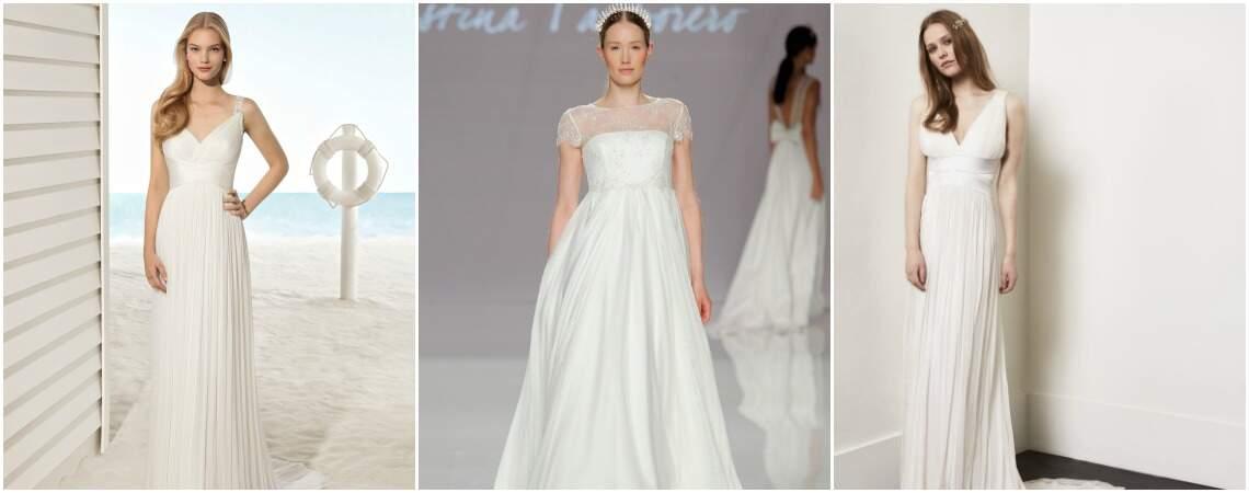 Свадебные платья в греческом стиле: стильно и женственно