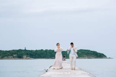 Mini wedding de Rachel e Jony em Búzios: um final de semana intenso com muita festa e disposição!