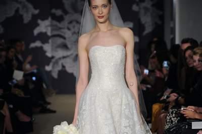 Os mais lindos vestidos de noiva Carolina Herrera 2015 - New York Bridal Week