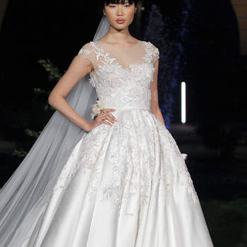 Marchesa 2020. Credits: Valmont Barcelona Bridal Fashion Week