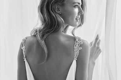 Vestidos de novia con escote a la espalda. ¡La tendencia que te dejará con la boca abierta!