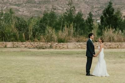 Una boda Vintage: Villa de Leyva testigo del amor de Sandra y Manuel