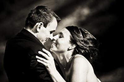 So schön können Hochzeitsküsse sein