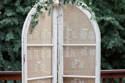 Decoración de matrimonio vintage. ¡Apuesta por la onda retro en el día de tu boda!