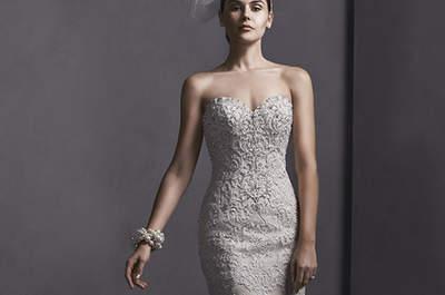 Vestidos de novia sublimes y sensuales: Sottero & Midgley 2015 colección de primavera