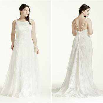 41dd1e0c0 Tallas L y XL en vestidos de novia 2016. ¡Para mujeres que sí tienen curvas!  Ver 19 fotos. Credits  David´s Bridal ...