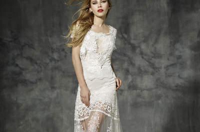 Свадебные платья YolanCris 2016 для уникальных невест