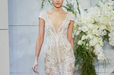 Vestidos de novia con encaje: Luce sutil, delicada y elegante