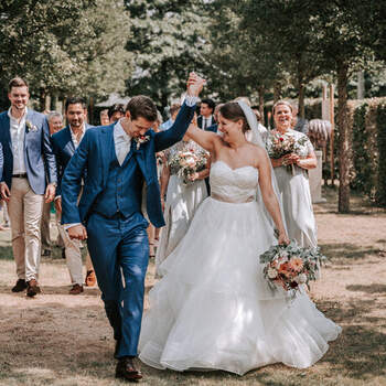 Colorful summer chique bruiloft van Thijs en Bibi | Foto: My Eye Photography