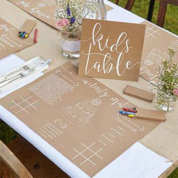 Kit para actividades niños 8 unidades - Compra en The Wedding Shop