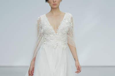 Vestidos de novia con tul: una tendencia de moda muy romántica y elegante