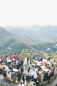 Far Above the Clouds: Wedding in Malibu
