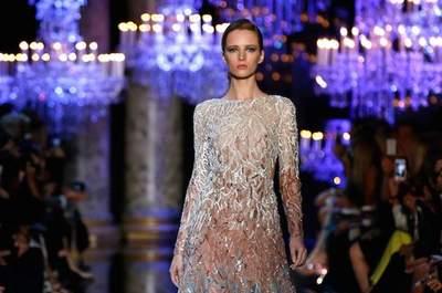 Jamás habías visto vestidos tan lindos: Conoce la colección alta costura otoño 2014 de Elie Saab