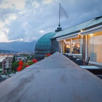 Veduta panoramica dall'Hotel